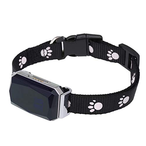 Hankyky MiNi Smart GPS Tracker, Haustier-Positionierungs-Halsband IP67 (für Hunde und Katzen) AGPS LBS Positionierung Geofence SOS Echtzeit-Tracker - Anti-Verlust-Tracker