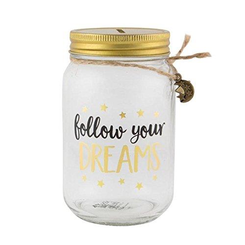 Barattolo Follow Your Dreams - Spaarpot