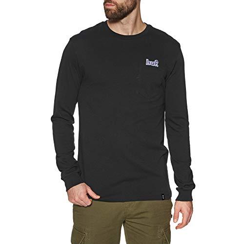HUF 1993 Pocket Long Sleeve T-Shirt Small Black