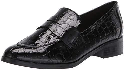 ALDO Women's Agroania Flat Loafer, Black, 9