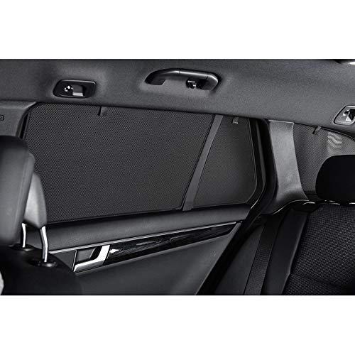 Car Shades CIT-C3-5-B-18 Juego traseras Compatible con Citroen C3 5-Puertas 2011-(2-Partes)