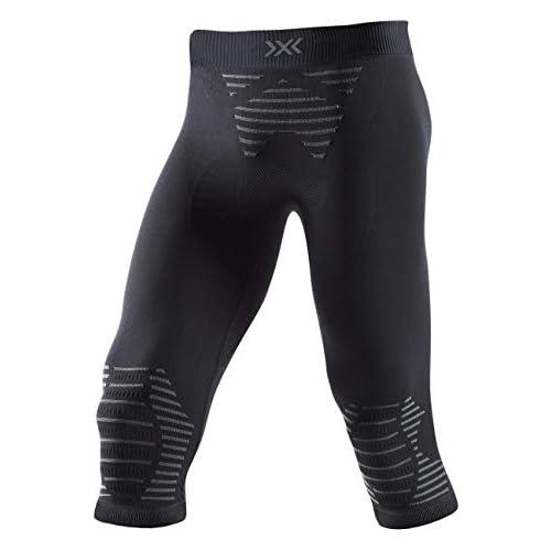 41MQO BBKjL. SS500  - X-Bionic Men's Invent 4.0 Pants 3/4 Sports Trousers Running Jogging Training Fitness Gym Compression Baselayer Legging