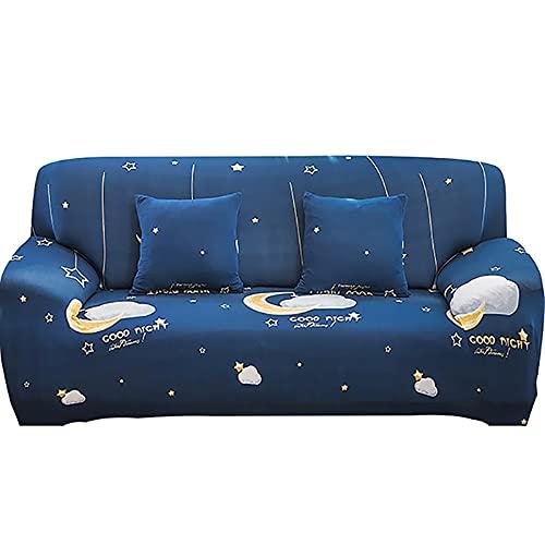 ASCV Funda de sofá para el hogar para Sala de Estar Material elástico Sofá de Dos plazas Fundas para sillas Fundas para sofá A3 4 plazas