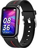Smart Watch for Men Women, 2021 Smartwatch for Android iOS Phones Fitness Tracker Heart Rate Blood Pressure Blood Oxygen Sleep Monitor Fitness Watch with Full Touch Screen Compatible iPhone Samsung