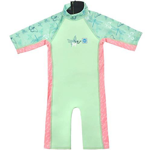 Splash About - Traje de Neopreno Unisex para bebé, diseño de libélula UV, Traje de Neopreno para Sol y mar, Unisex bebé, Color Libélula, tamaño 2-4 años