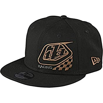 Troy Lee Designs Precision 2.0 Checkers Snapback Hat  Black