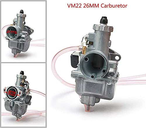 JFG RACING Carburador VM22 PZ26 de 26 mm para 125 144 150 160 170 CC ATV Quad Dirt Pit Bike