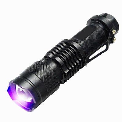 Linterna UV,Antorcha UV,Mini Lámpara de Mano LED,Detector de Longitud de Onda de...