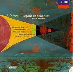 Trios Leçons de ténèbres / Motet de saint Barthélemy / Magnificat / motet pour le jour de Pâques