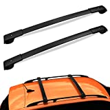 Auxko Car Roof Racks Cross Bars Compatible for 2014-2021 Subaru Forester / 2013-2019 Crosstrek / 2012-2019 Impreza with Side Rails, Aluminum Rooftop Luggage Rack Crossbars Carrying Kayak Canoe Bike