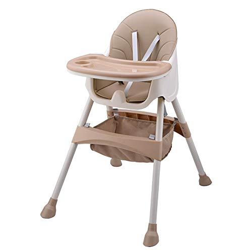 Affordable Children's Dining Chair Non-Slip Baby Portable High Chair Feeding Snack Booster Seat Eati...