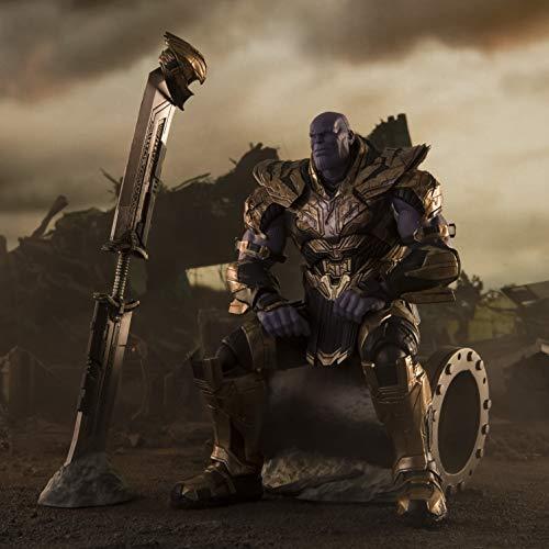Bandai Tamashii Nations Avengers : Endgame - Figurine S.H. Figuarts Thanos Final Battle Edition 20 cm