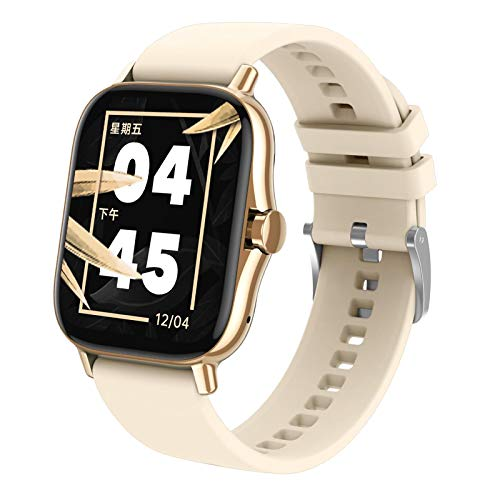 Nobranded Reloj Inteligente rastreador de Fitness Reloj Inteligente Monitor de sueño - de Oro