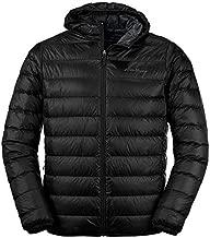 Eddie Bauer Men's CirrusLite Down Hooded Jacket, Black Regular XXL