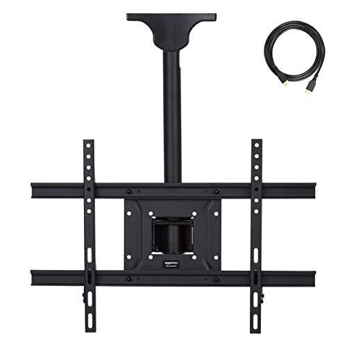 Amazon Basics – Soporte de techo para televisor, 94 x 203 cm