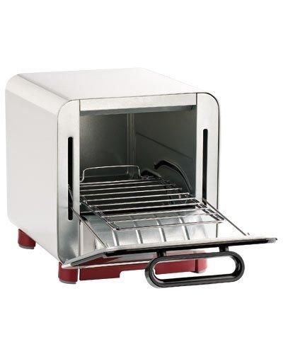 Rosenstein & Söhne Minibackofen: Kompakter Klein-Backofen für belegten Toast u.v.m, 1.000 Watt, 8 l (Kleinbackofen)