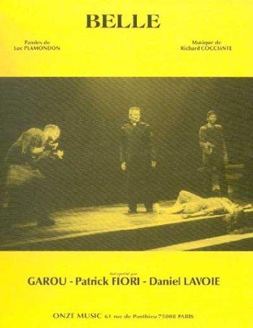Partition : Belle (Notre Dame de Paris) - Piano, Chant, Accords de guitare - Feuillet