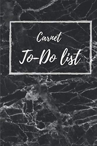 carnet To Do list: carnet de To-Do list | 100 pages, 6x9 pouces| carnet de gestion de vos tâches quotidiennes