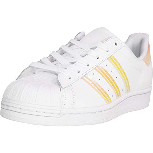 Adidas Superstar 3 Women Sneaker (White, Fraction_36_and_2_Thirds)