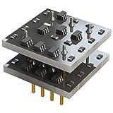SX52B Audio Discret Composant Audio Amplificateur Opérationnel Amplificateur Double Amplificateur Opérationnel Amplificateur à Haute Fréquence Remplace AD827 - Noir