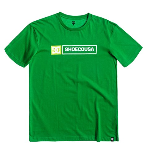 DC Shoes Relic SS AS M Tees GRZ0 T-Shirt Homme, Vert (Emerald), Large (Taille Fabricant: L)