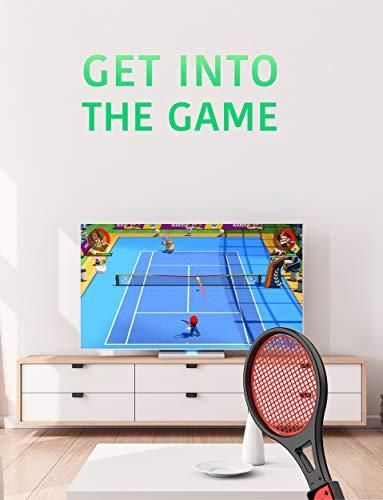 Joy Con Controller Grip Sports Game Accessories for Mario Tennis Aces