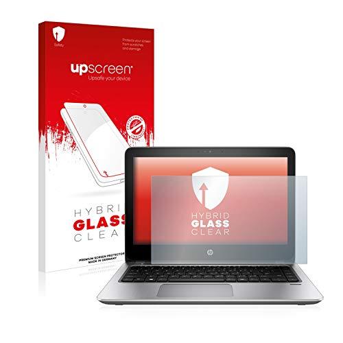 upscreen Hybrid Glass Panzerglas Schutzfolie kompatibel mit HP ProBook 430 G4 9H Panzerglas-Folie