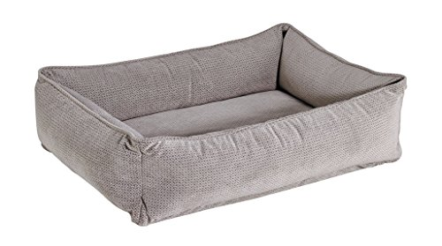 Bowsers Urban Lounger Dog Bed, Small, Silver Treats