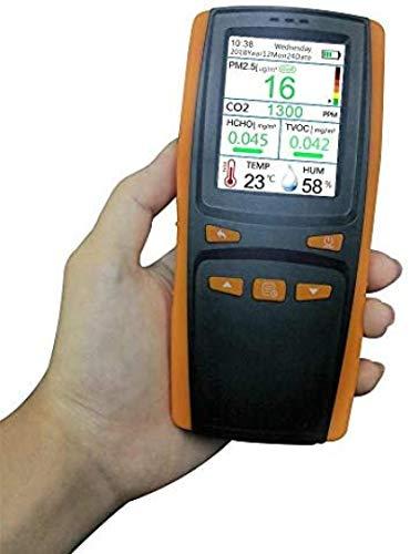MIZUAN RaumluftmessgeräT Co2 Tragbare Digital Air QualitäT Monitor Aqi Tvoc Pm2.5 Detektor Co2 Meter Kohlendioxid Formaldehyd Tester Gas Analysatoren
