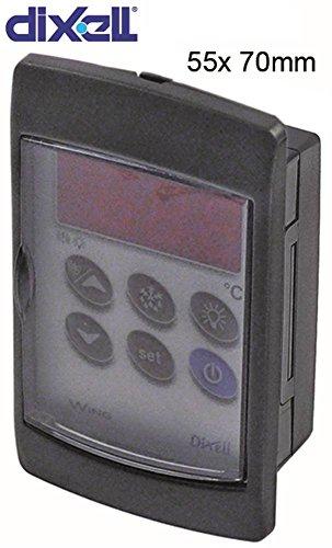 Dixell V620-000C0 elektronische regelaar afmetingen 55 x 70 mm weergave 31/2 cijfers inbouwmaat 55 x 70 mm inbouwdiepte 24 mm IP65