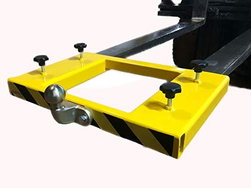 A. Weyck Tools Kugelkopf Gabelstapler Rangierhilfe Anhänger Wohnwagen Anhängerkupplung 133x53cm