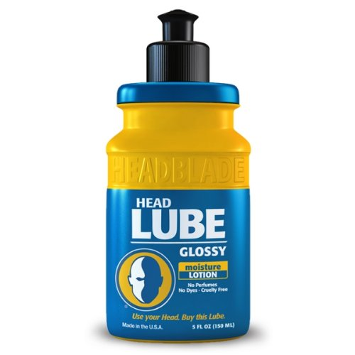 HeadBlade HeadLube Glossy Aftershave Moisturizer Lotion 5 oz for Men