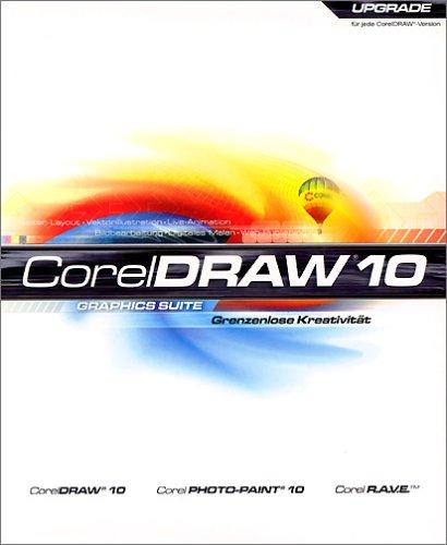CorelDraw Graphics Suite 10 Update deutsch