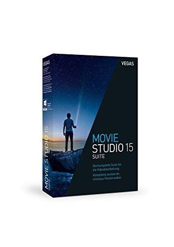 Preisvergleich Produktbild VEGAS Movie Studio / 15 Suite / 1 Device / Perpetual / PC / Disc / Disc