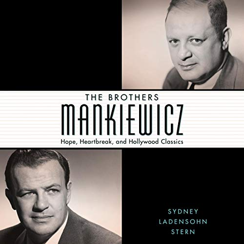 The Brothers Mankiewicz audiobook cover art