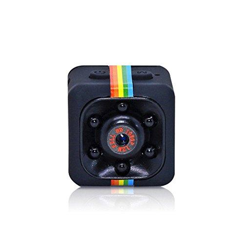 Mini Camera SQ11 HD 1080P Camcorder Sports Mini DV Video Recorder Spy Cameras with Night Vision & Motion Detection Security Camera
