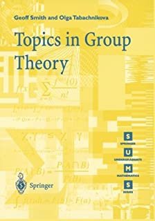 Topics in Group Theory (Springer Undergraduate Mathematics Series)