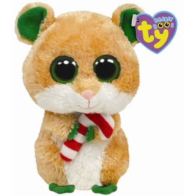 Ty 36050 - Beanie Boos - Candy Cane Hamster