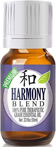 Harmony Blend Essential Oil - 100% Pure Therapeutic Grade Harmony Blend Oil - 10ml