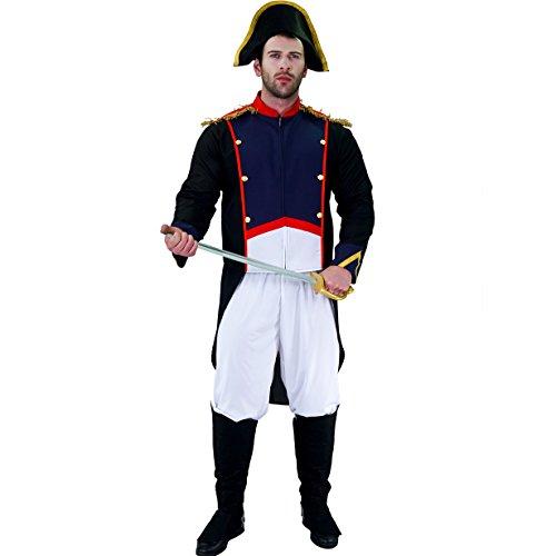 SEA HARE Traje histrico de la revolucin Francesa de Napolen Adulto