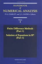 Handbook of Numerical Analysis: Finite Difference Methods, Part 1, Solution Equations in R 1 Part 1