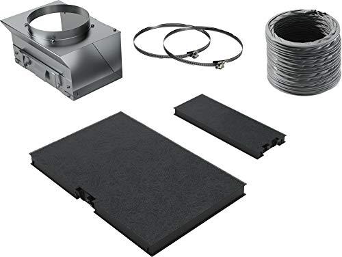 Bosch DWZ0AK0Ú0 Zubehör für Dunstabzüge / Standard Umluftset / für Umluftbetrieb / Aktivkohlefilter / Umluftweiche / flex. Schlauch / Befestigungsmaterial