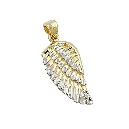 Colgante 431071 - 'Angel Wing' Oro estilizado 9ct