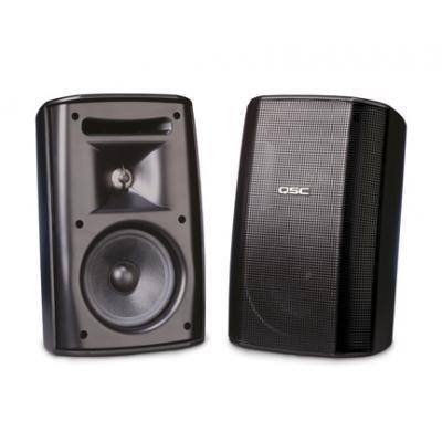 MID55 – QSC AD-S52 Lautsprecher, akustisches Design, 13,3 cm (5,25 Zoll), Lautsprecher, witterungsbeständig, 2-Wege, mit Sender und Hochtöner, 70 V/100 V Transformator