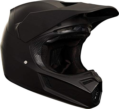 Fox V3 Matte Carbon Helmet, ECE Matt Black
