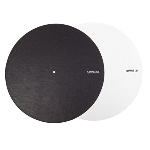 Turntable Lab: Switchmat Reversible Slipmat - Black/White (Single)