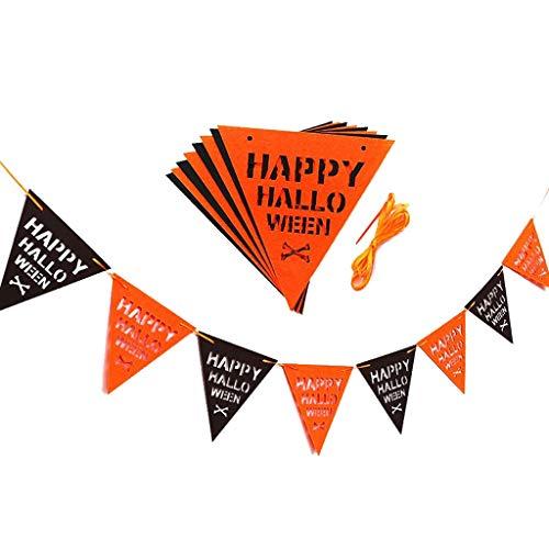 No logo NZQGS Halloween KTV Bar Kindergarten Decoraciones Interiores y Exteriores
