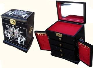 inlaid lacquer box