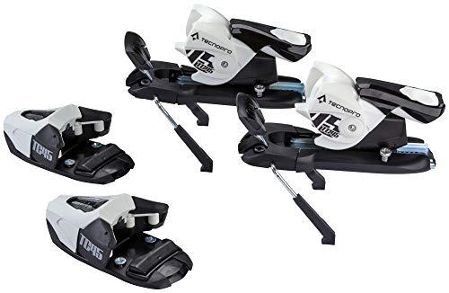 TECNOPRO Ski Alpin Bindung N TC45 J75, Weiss/Schwarz, One Size