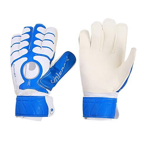 Guantes de Porteros Guantes de portero de fútbol Excelentes guantes de portero para todos los tamaños 9 Guantes de portero para interiores para todas las edades / niveles Protección para hombres de al